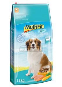 MultiFit Light száraz kutyaeledel 12kg