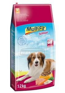MultiFit Senior száraz kutyaeledel 12kg