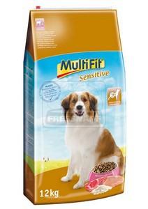 MultiFit Sensitive száraz kutyaeledel 12kg