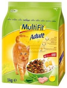 MultiFit Adult száraz cicaeledel baromfival 1kg