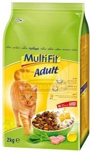 MultiFit Adult száraz cicaeledel baromfival 2kg