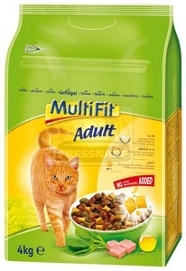 MultiFit Adult száraz cicaeledel baromfival 4kg