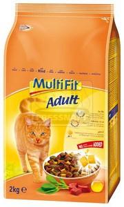 MultiFit Adult száraz cicaeledel marhával 2kg