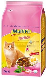 MultiFit Junior száraz cicaeledel 2kg