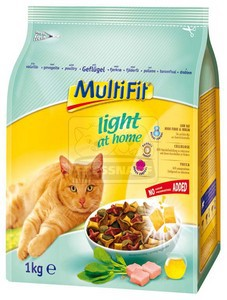 MultiFit light at home száraz cicaeledel 1kg