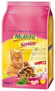 MultiFit Senior száraz cicaeledel 2kg