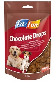 fit+fun Chocolate Drops 250g