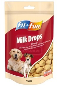 fit+fun Milk Drops 250g