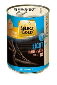 Select Gold cicakonzerv hair+skin light 400g