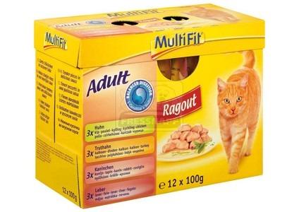 MultiFit Multipack Balanced Digestion 12x100g