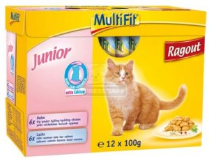 MultiFit Multipack Junior 12 x 100g
