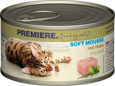 Premiere Soft Mousse csirkével 85g