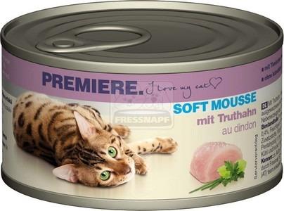 Premiere Soft Mousse pulykával 85 g