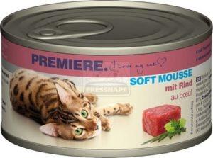 Premiere Soft Mousse marhával 85 g