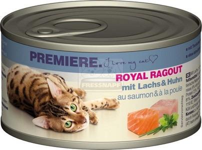 Premiere Royal Ragout lazaccal és csirkével 85 g
