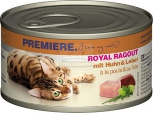Premiere Royal Ragout csirkével és májjal 85 g