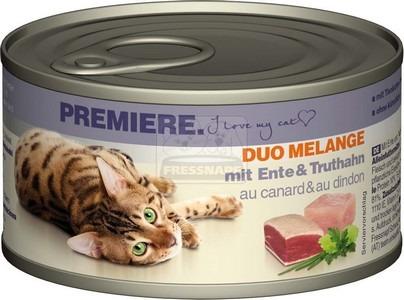 Premiere Duo Melange kacsával és pulykával 85 g