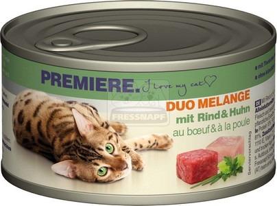 Premiere Duo Melange marhával és csirkével 85 g