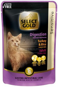 Select Gold sensitive alutasakos pulyka és rizs 85 g