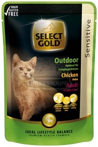 Select Gold sensitive Outdoor chicken 85 g