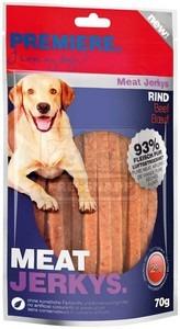 PREMIERE dog MEAT JERKY beef, 70g