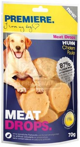 PREMIERE dog MEAT DROPS chicken 70g