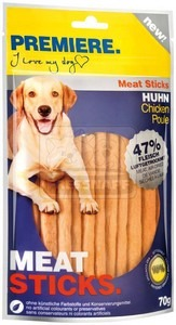 PREMIERE dog MEAT STICKS chicken, 70 g