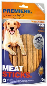 PREMIERE dog MEAT STICKS lamb, 70 g