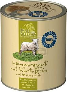 Real Nature kutyakonzerv, 800 g bárányraguval