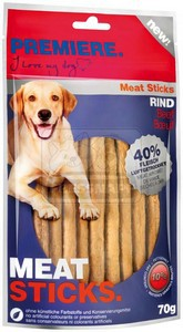 PREMIERE dog MEAT STICKS beef, 70 g