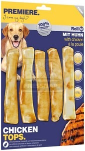 PREMIERE dog CHICKEN TOPS Roll M, 5 db