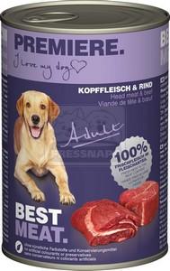 Premiere kutyakonzerv 400g adult fejhús-marha