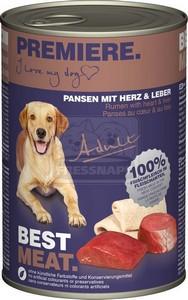 Premiere kutyakonzerv 400g adult pacal-szív-máj