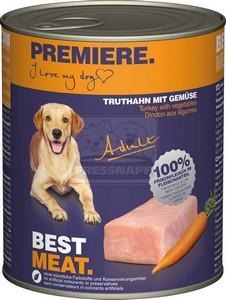 Premiere kutyakonzerv adult 800g pulyka-zöldség