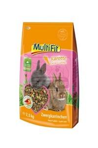 MultiFit nyúltáp répával 2,5kg