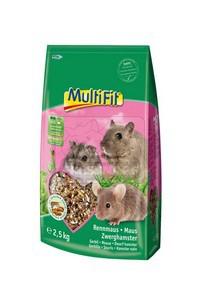 MultiFit egér és törpehörcsög eleség 2,5 kg
