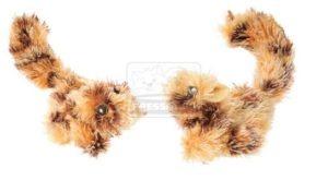 AniOne cicajáték mókusok 6cm