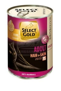Select Gold cicakonzerv hair+skin csirke 400g
