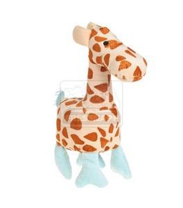 AniOne kutyajáték szafari plüss állat, zsiráf 25-29cm