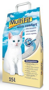 MultiFit Ultra Comfort csomósodó alom 15L