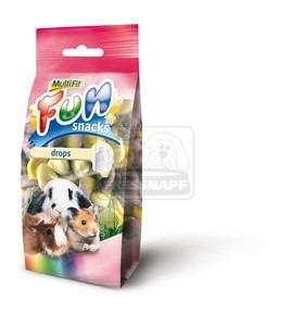 MultiFit Fun Snacks joghurtos falatkák rágcsálóknak 100g