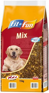 fit+fun Mix kutyaeledel 15kg