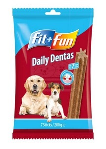 fit+fun daily dentas 200g