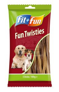fit+fun Fun Twisties 100g