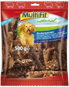 MultiFit Natural szárított marhapacal 500g