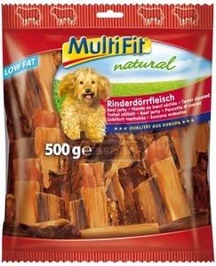MultiFit Natural szárított marhahús 500g