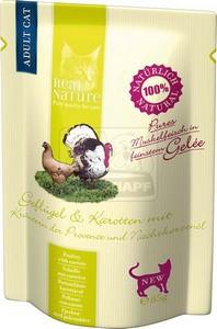Real Nature cica tasakos baromfihús karottával, provance-i fűszernövényekkel és ligetszépeolajjal 85g