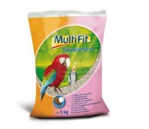 MultiFit papagáj homok 5kg