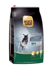 SELECT GOLD Mini Active száraz kutyaeledel 4 kg