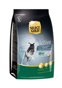 SELECT GOLD Mini Active száraz kutyaeledel 1 kg